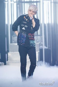 Press photos of Big Bang's comeback stage on Mnet's M Countdown: SEUNGRI