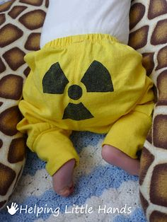 Radioactive Baby Outfit...my child WILL have this.
