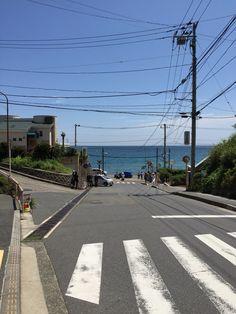 鎌倉高校前 スラムダンクslam dunk 日常の風景