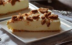 Cuchillito y Tenedor: Tarta de chocolate blanco y galletas Lotus.