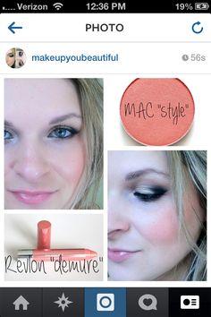 #revlon #maccosmetics #makeupyoubeautiful