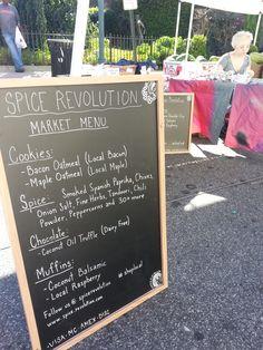Spice Revolution menu