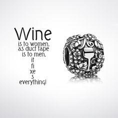 Pandora Vino Wine Charm
