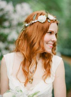 White Wedding Crown