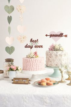 The Whimsical Wedding Cake Topper in Mahogany Mint Love Birds