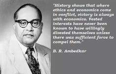 Ambedkar Quote on Economics