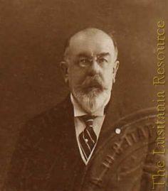 First-class passenger George A. Kessler (1863-1920), wine merchant.