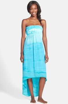 Hard+Tail+Strapless+High/Low+Dress+available+at+#Nordstrom