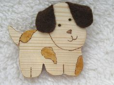 Dog brooch, gift for her, dog lovers brooch, Dog Lover Gifts, Gift For Lover, Dog Lovers, Paper Cover, Badges, Mother Day Gifts, Paper Flowers, Birthday Gifts, Gifts For Her