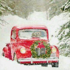 Winter & an old truck