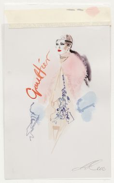 David Downton Gaultier Couture 2013