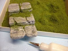 Make rock steps for your fairy garden ... a tutorial :)