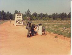 M203 range, wall position.