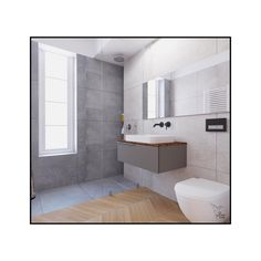 If you're looking for inspiration for a gorgeous, yet space-saving bathroom, take a look at these! 👀 The storage space is incorporated under the sink and the shower has built-in shelves, all while concrete and wood elements create the needed intimacy of a multifunctional bathroom. Swipe right and enjoy!✨ Space Saving Bathroom, Built In Shelves, Multifunctional, Design Projects, Storage Spaces, Toilet, Concrete, Sink, Shower