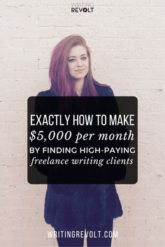 Wondering how to get freelance writing clients?  This handy blog post will walk you through all the methods I used to build a $5K income from freelance writing in FOUR months! :) Check it out!  https://www.writingrevolt.com/how-to-get-freelance-writing-clients/