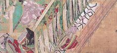 「源氏物語絵巻」徳川美術館 国宝 源氏物語絵巻 柏木(kashiwagi)(三)平安時代 12世紀 徳川美術館蔵