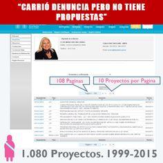 PROYECTOS DE CARRIÓ
