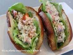 Les plats cuisinés de Esther B: Lobster rolls