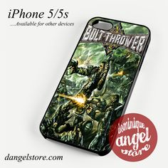 Bolt Thrower Cover Phone case for iPhone 4/4s/5/5c/5s/6/6s/6 plus