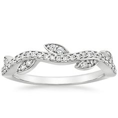 18K White Gold Wisteria Diamond Ring (1/4 ct. tw.) from Brilliant Earth (I choked on this price tag, though)