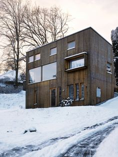 Wooden house: Knotty By Nature    http://www.dwell.com/house-tours/article/knotty-nature