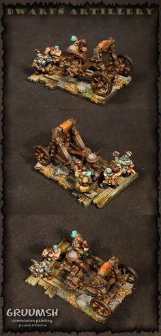 The Internet's largest gallery of painted miniatures, with a large repository of how-to articles on miniature painting Fantasy Battle, Fantasy Art, Warhammer Dwarfs, Fantasy Miniatures, Warhammer Fantasy, Medieval, Geek Stuff, Old Things, Skull