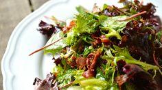 Horký salát s křupavou slaninou a balzamikovým dresinkem Beef, Fresh, Food, Meat, Essen, Meals, Yemek, Eten, Steak