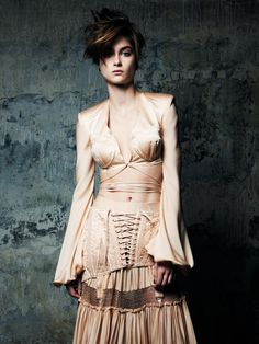 Bo Don is Couture Grunge for Harper's Bazaar Turkey March 2013 by Gianluca Fontana
