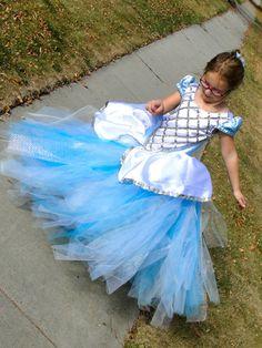 cinderela tutu dress