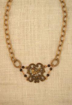 Florence Necklace. $239. Ex Voto Vintage. -via Interior Canvas (GIVEAWAY)!!!