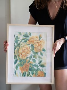 A print that suits beautifully in an interior ❤️🌺 Flower Paintings, Tea Roses, Paper Weights, Giclee Print, Suits, Interior, Flowers, Paintings Of Flowers, Indoor