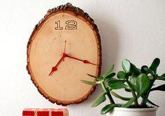4. Wood Clock - 15 Chic and Cool DIY Clocks …  Lifestyle