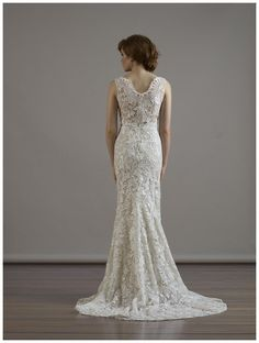 Wedding dress by Liancarlo from the Fall 2015 collection.