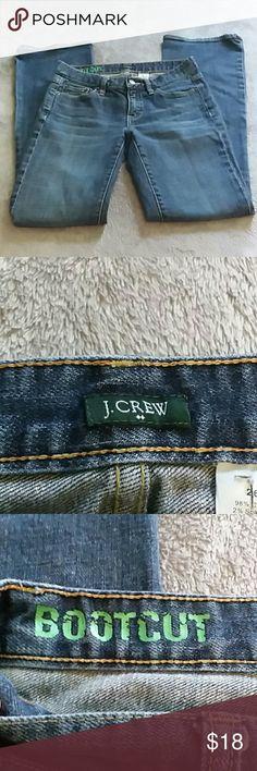 J Crew women's size 26S boot cut jeans J Crew women's size 26S boot cut jeans J. Crew Jeans Boot Cut