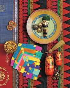 Indian Summer - Rich amalgamation of ethnic prints,traditional handicrafts and deep yet bright colours come together