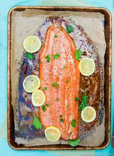 Enjoy the best flavors of summer AND get your omega-3 fish oil with this family favorite grilled salmon recipe!