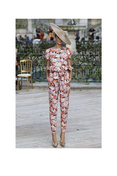 Delpozo Pantsuit - perfect for the races
