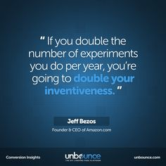 This week's #conversion insight is by Jeff Bezos. Thank you Bryan Eisenberg for finding this gem! #Marketing #Quotes