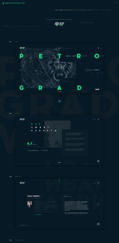 PetrogradWeb digital production company on Behance