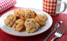 Cookies s uzeným masem a uzeným sýrem » Pečení je radost