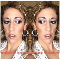 #makeup #makeuplooks #makeupartist #looks #lovemyjob Summer Makeup, Love My Job, Beauty Makeup, Makeup Looks, Hoop Earrings, Jewelry, Jewellery Making, Jewerly, Jewelery