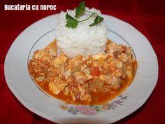 Mancare thailandeza de pui cu legume si oua - Bucataria cu noroc Oriental, Exotic Food, Accounting