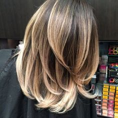 balayage blonde shoulder length - Google Search