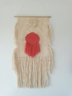 Hand Woven Wall Hanging Woven Tapestry by lifeundertheoaktree, $80.00