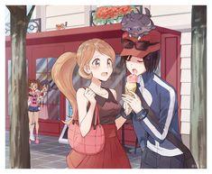 Pokemon Kalos, Pokemon Oc, Pokemon Ships, Pokemon Comics, Pokemon Memes, Pokemon Funny, Pokemon Fan Art, Pokemon Adventures Manga, Pokemon Game Characters