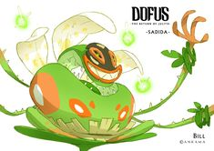 Bill otomo Dofus- gods concept