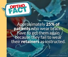 Wear Your Retainers