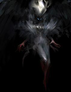 Shadow Creatures, Dark Creatures, Fantasy Creatures, Mythical Creatures, Fantasy Kunst, Dark Fantasy Art, Fantasy Artwork, Dark Art, Fantasy Character Design
