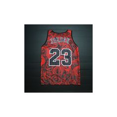 Rose Print Basketball Jersey Men/ Flower Tank Tops/ Summer Breathable... ❤ liked on Polyvore featuring men's fashion, men's clothing, men's shirts, men's tank tops, mens jerseys, mens basketball jerseys, mens clothing and mens apparel