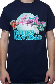 My Little Pony Christmas T-Shirt. I need this!!